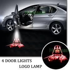 4pcs car logo door light led welcome laser projector for wars