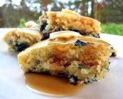 Blueberry Pancake Recipe Baked Blueberry Pancakes Plain Chicken