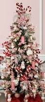 whimsical lollipop christmas tree filled with candy decor