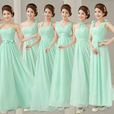 wedding dresses for bridesmaids seafoam green bridesmaid dresses 7882