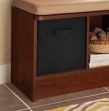 amazon com closetmaid 5784 cubeicals fabric drawer black home