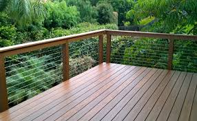 install a steel cable deck railing systems u2014 doherty house