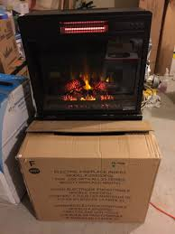 hdy electric fireplace insert model number 2311033fgl for sale in