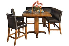 ashley furniture corner table dining room and dinette super center
