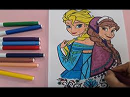 frozen coloring pages color anna elsa colouring pages