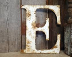 wooden letters home decor rustic letter etsy