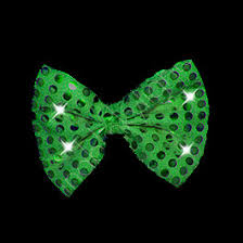 light up bow tie green sequin light up flashing led bow ties with led lights