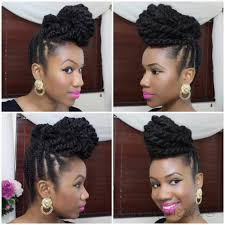 crochet styles with marley hair styles marley protective natural natural updo hairstyles with