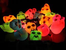Flickering Light Bulb Halloween by Outdoor Indoor Led Light String Lamp Halloween Props Haunted House