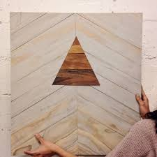 weekend project how to inlay wooden shapes to make some geometric