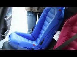 siege auto gonflable rehausseur bébé easy car seat installation bientôt disponible sur