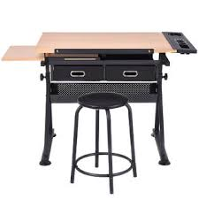 Art Drafting Table Goplus Adjustable Drafting Table Art Craft Drawing Desk Art Hobby