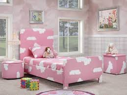 Childrens Bedroom Bedding Sets Kids Bedroom Interior White Wooden Canopy Bed With Pink Brown