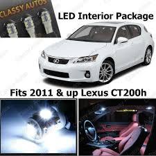 lexus ct200h dimensions amazon com classy autos lexus ct200h white interior led package