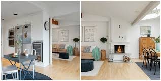 partition living room and kitchen wall design ideas kitchen to