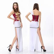 roman warrior costume women halloween costumes party dress