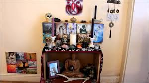having a pagan altar in my living room youtube