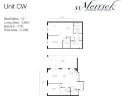 floor plan agreement 55 merrick downtown coral gables floor plans