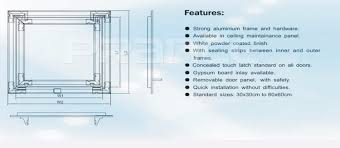 Ceiling Access Doors by Aluminium Access Door Access Panel Access Hatch For Ceiling