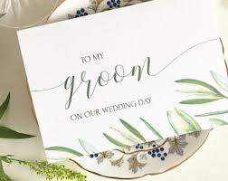 Card For Groom Hurry Up Wedding Day Greeting Card For Your Groom Wedding