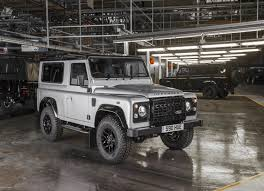 1997 land rover discovery off road land rover builds its 2 millionth defender with help from bear grylls