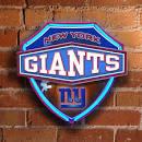 New York Giants Neon Shield