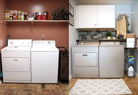 laundry room budget makeover checking in with chelsea