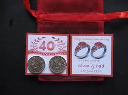 40 year anniversary gift the traditional 40th wedding anniversary gift ideas c bertha fashion