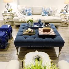 the most elegant blue ottoman coffee table regarding house remodel