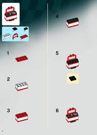 lego ferrari truck lego ferrari truck instructions 8185 racers