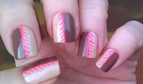 beige brown u0026 pink nails cute nail art designs for beginners