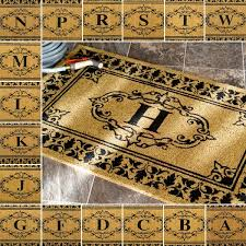 Monogrammed Rugs Outdoor by Nuloom Estate Monogrammed Welcome Door Mat 3 U0027 X 6 U0027 Free