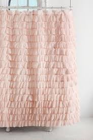 Burlap Ruffle Curtain Pink Ombre Ruffle Curtain Notable Curtains Priscilla Burlap