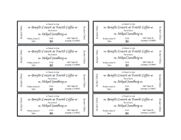 free ticket template blank ticket more proms ticketsevent