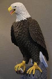 bald eagle sculpture home and garden bald eagle