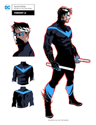 nightwing halloween costumes signs javier fernandez and jorge jimenez to exclusivity deals
