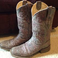 womens dress boots size 12 67 corral boots womens corral mild square toe cowboy boots