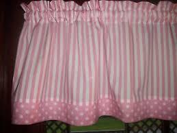 pink white stripe polka dot baby nursery waverly fabric