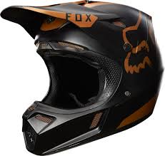 fox motocross gloves fox racing 2017 v3 moth le helmet copper fox racing