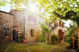 traditional italian villa tuscany italy stock photo picture and
