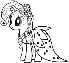 kids pony coloring pages hasbro candyland