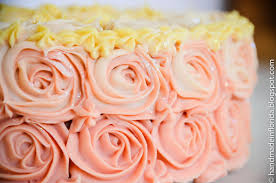 strawberry lemon ombre cake handmade in florida