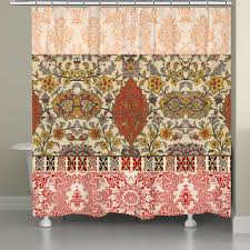 red spice bohemian tapestry shower curtain u2013 laural home