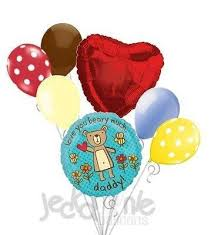 fathers day balloons you beary much teddy s day balloon bouquet