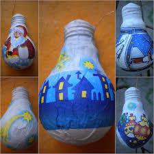 decorating ideas 21 ways to reuse light bulbs