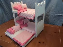Woodworking Plans For Doll Bunk Beds by 18 Best American Doll Beds Images On Pinterest Doll