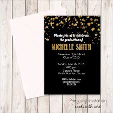 sle graduation invitations free premium templates