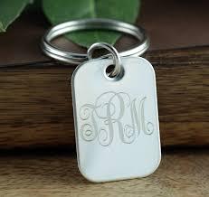 personalized keychain gifts monogram keychain graduation gift personalized engraved keychain