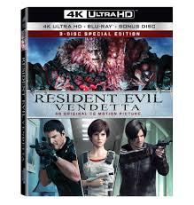 resident evil vendetta bluray features excellent bonus material