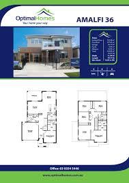 double storey optimal homes